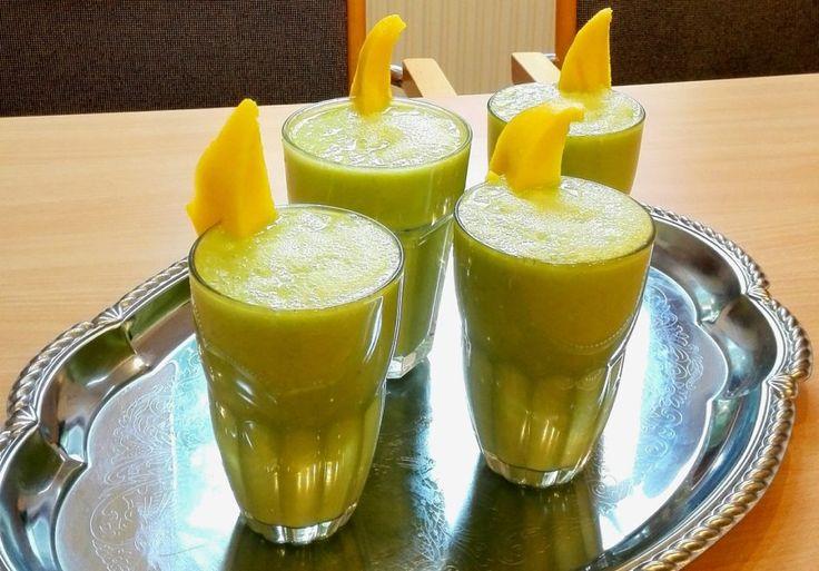 Zelený smoothie: rýchlo a jednoducho