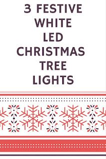 Smart Working is Hard Working: White LED Christmas Tree Lights