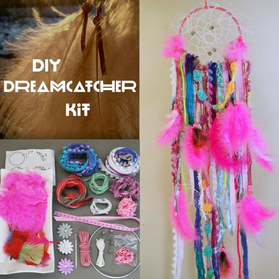 Make Your Own Dreamcatcher Kit.  Dream Catcher by SloanDreamKits