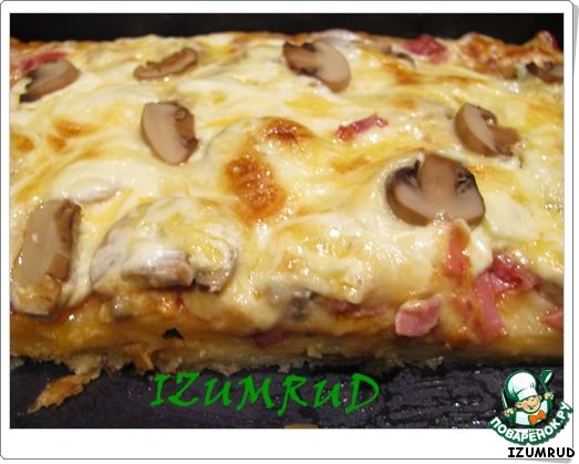 """Пицца с двойным """"дном"""" ингредиенты"""