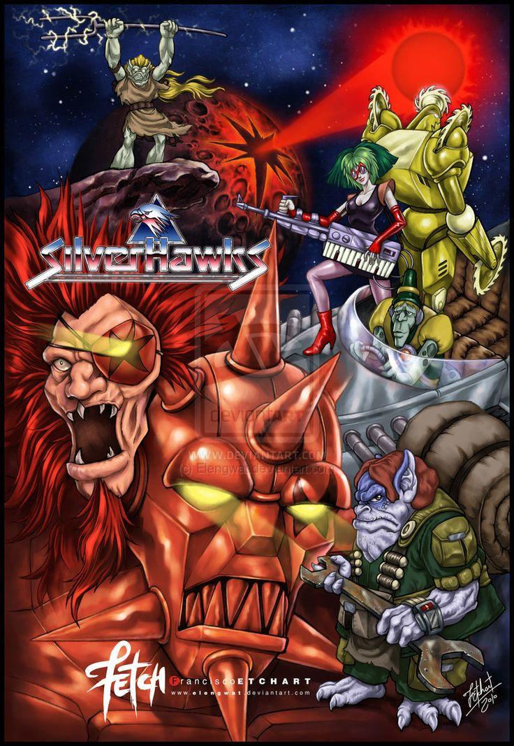 Silverhawks - Los Halcones Galacticos - Fan Art