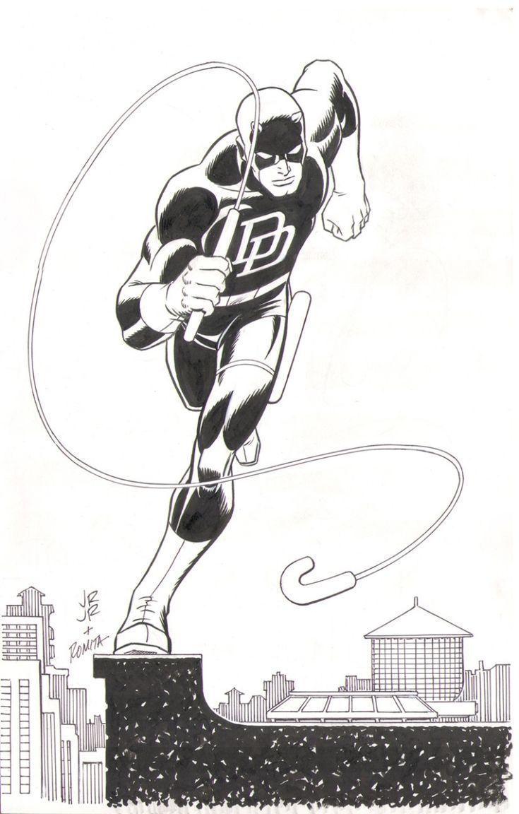 Daredevil by John Romita Jr. And John Romita Sr.
