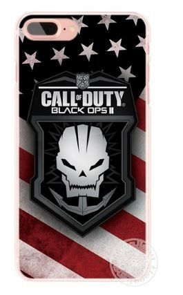 Coque iPhone 5/5S SE Logo Call Of Duty Black Ops Jeux Vidéo Guerre Armes #Coque #iPhone #Logo #Call #Duty #Black #Jeux #Vidéo #Guerre #Armes