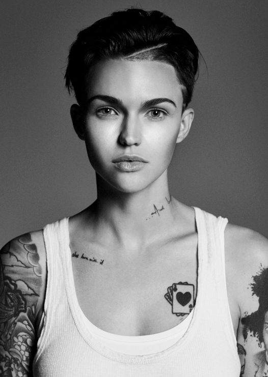 "Ruby Rose from ""Orange Is the New Black"" #OITNB"