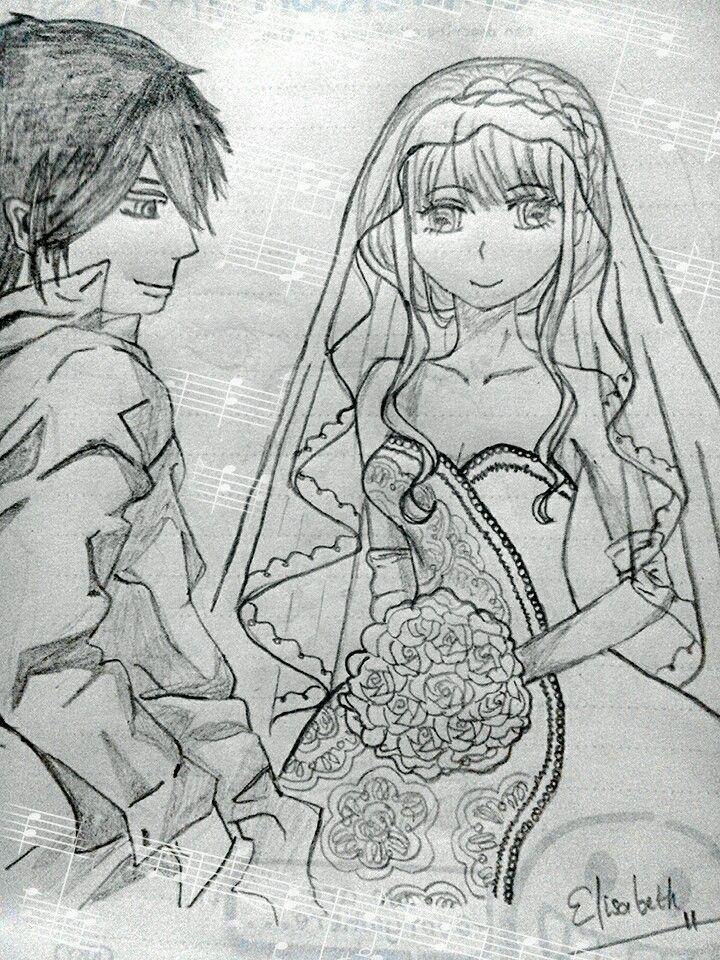 My draws. Wedding scene