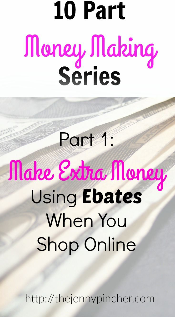 Today starts a 10 part series about making extra money. I love talking about this topic with people and brainstorming ways this can be done. Oftentimes, making at least a little extra money is quite simple to do but for some reason does not come easy for people. Let's change that! via @thejennypincher