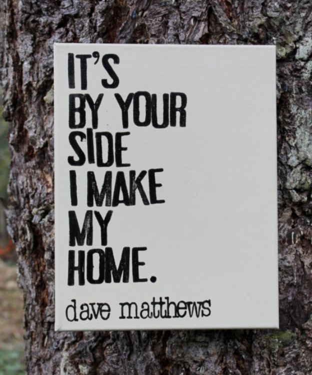 For our home...  Dave Matthews Band Loving Wings lyrics