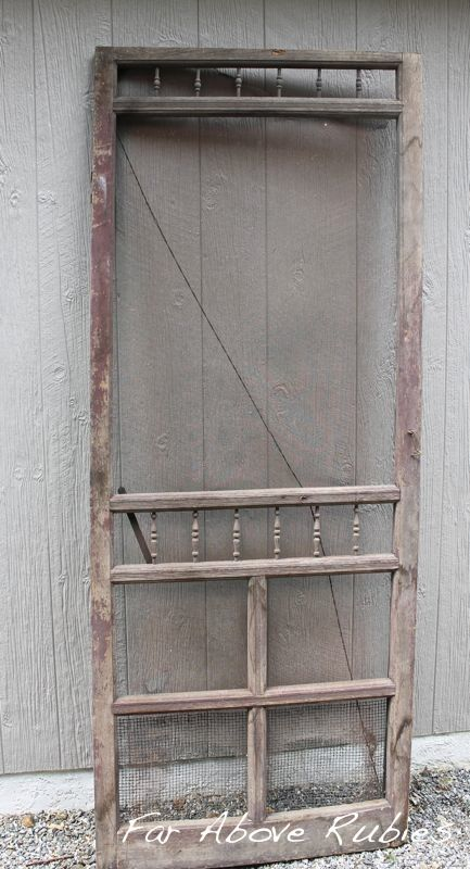 Best 25 Vintage Screen Doors Ideas On Pinterest Old