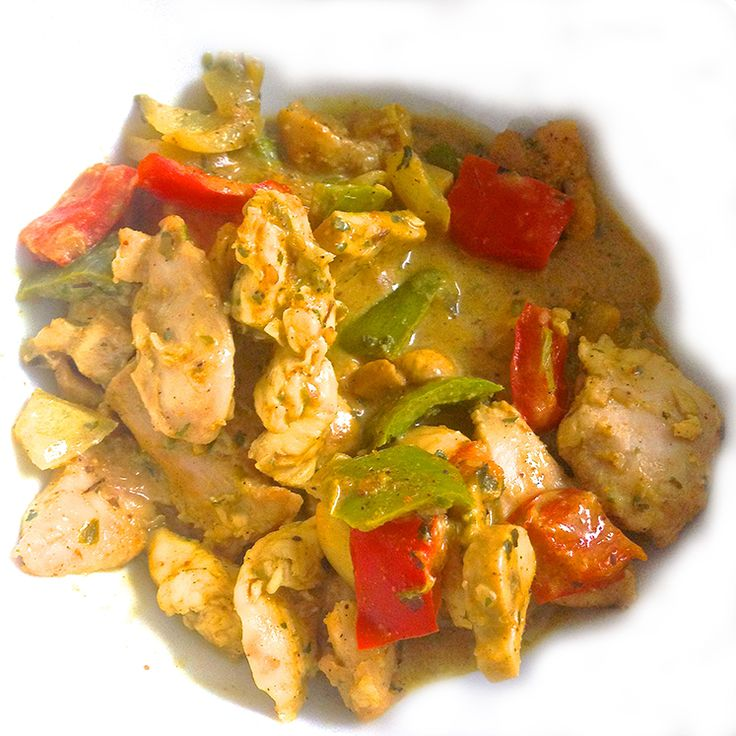 RECETA FITNESS/ Pollo al curry amarillo fit by Jessica - Fitfoodmarket