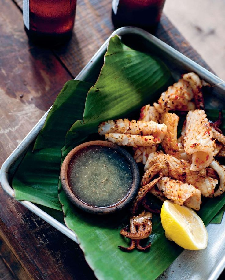 Chargrilled Phu Quoc salt and chilli squid by Luke Nguyen from The Food of Vietnam | Cooked