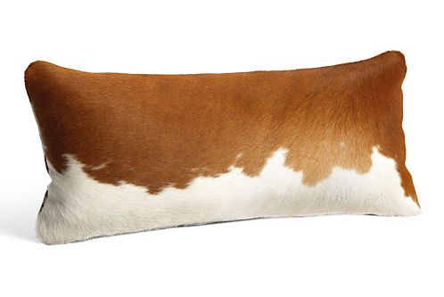 Rustic, yet elegant, our natural cowhide pillows bring a luxurious texture to your modern space. The insert removes for cleaning. Each hide displays unique variations in pattern and color. No two are alike, ensuring that your pillow is one of a kind.