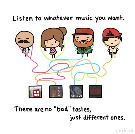 If someone likes a certain type of music, there's no need to judge them for it. It doesn't matter what others think of the music...