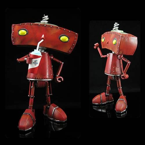 Limited edition Bad Robot collectible figureLimited Editing, Figures Products I Lov, Robots Stuff, Robots Collection, Bad Robots, Geek Culture, Editing Bad, Figures Productsilov, Collection Figures