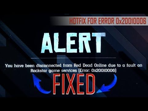 ERROR 0x20010006 FIXED – The Best Hotfix for the Red Dead