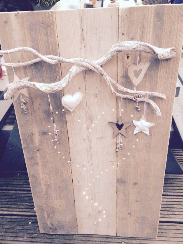 Home made wandbord steigerhout