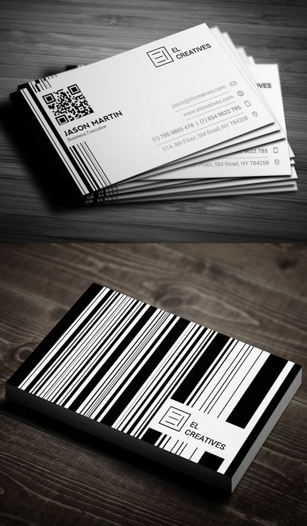 Business Cards Design: 50+ Amazing Examples to Inspire You - 2 #businesscards…