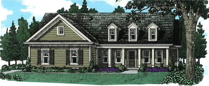 The Elizabeth A Plan By Frank Betz Architecture Cape Cod Homes Pinterest Architecture