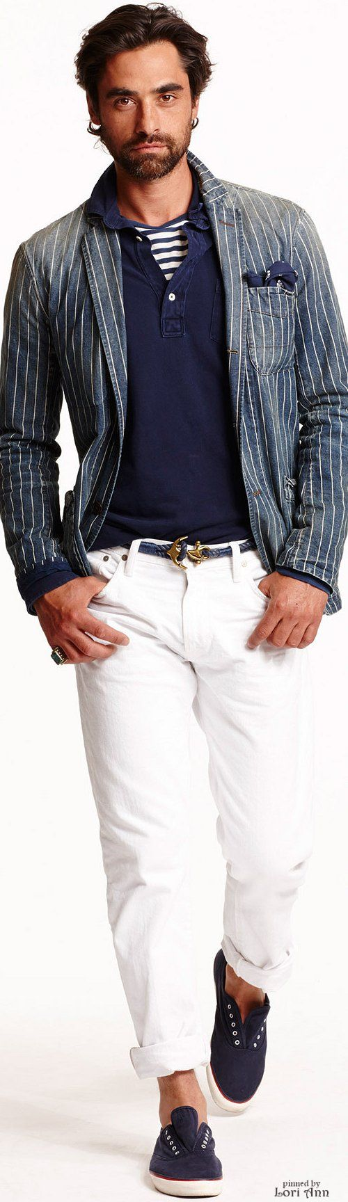 Ralph Lauren Spring 2015 Menswear - modern nautical.