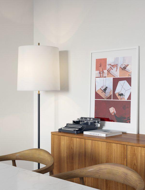midcentury modern interior, dining room