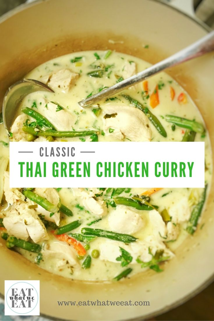 210 best ethnic thai food images on pinterest cooking food classic thai green chicken curry so flavoursome and easy to make at home for dinner forumfinder Images