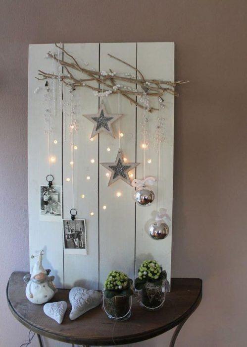 17 Originelle Ideen, um Ihr Haus zu Weihnachten mit trockenen Zweigen zu dekorieren
