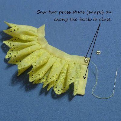Xanadu's Dolly Pad: Tutorial: Fairy Skirt for Puki Fee (Part 1)