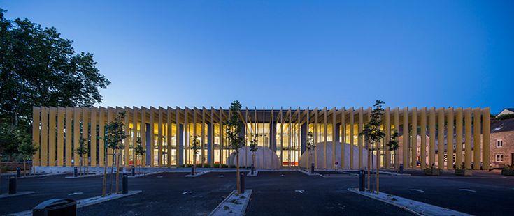 opus 5 architectes media library designboom