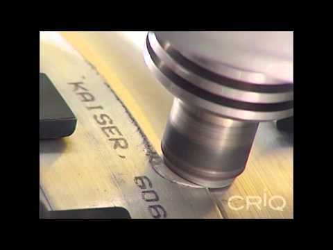Robotic Friction Stir Welding Automation - Courtesy of CRIQ - YouTube