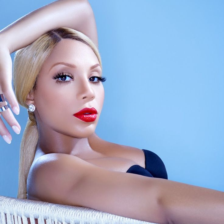 Tamar Braxton...she was pregnant in this pic