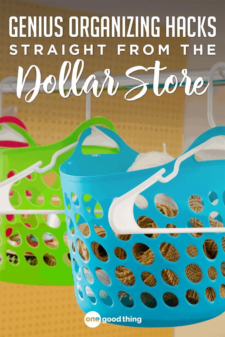 9 More Brilliant Dollar Store Organizing Hacks