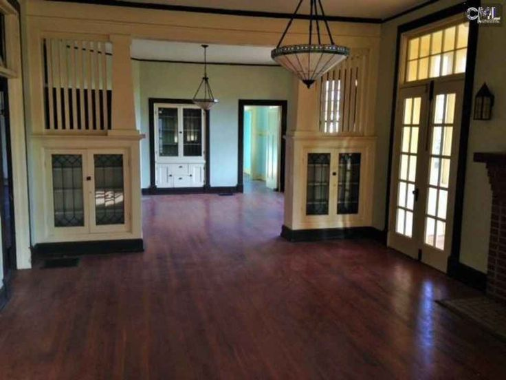 C 1910 Craftsman Winnsboro SC Bungalow InteriorsBungalow