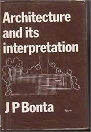 Αποτέλεσμα εικόνας για j b bonta architecture and its interpretation