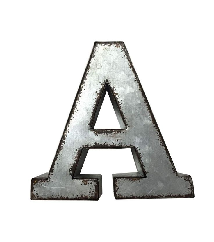 Fab Lab Metal Letters Metal Letters Letters And Metals