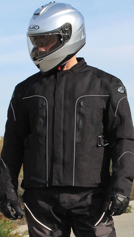 Alter Ego 3.0 — Waterproof textile outer, armored mesh inner, transitional 4 season jacket.