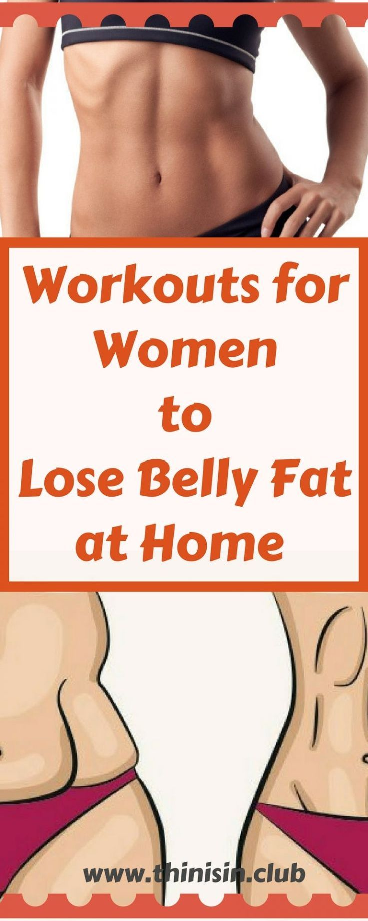 Workouts For Women To Lose Belly Fat At Home  Best -1478