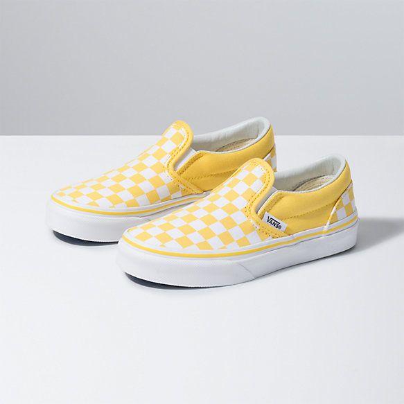 Kids Checkerboard Slip-On | Shop Girls