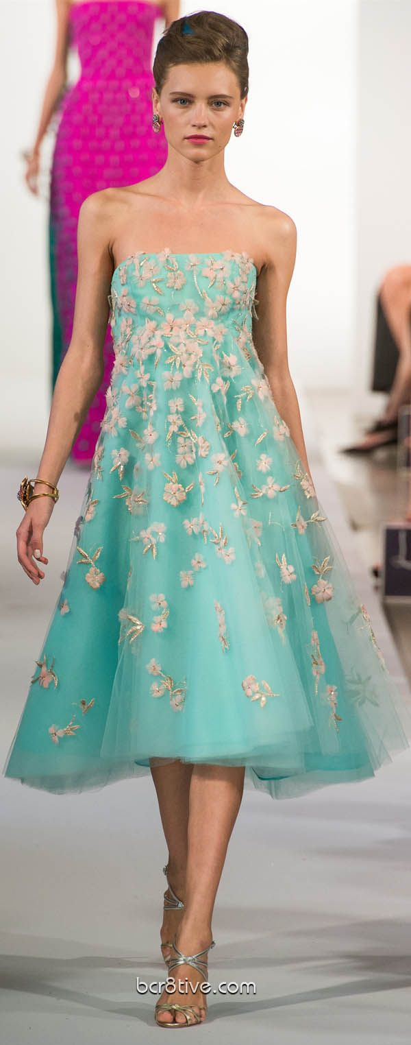#Oscar De La Renta Spring Summer Ready to Wear 2013