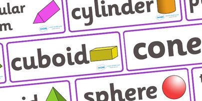 Twinkl Resources >> #3D Shape Word Cards# >> Printable resources for Primary, EYFS, KS1 and SEN.  Thousands of classroom displays and teaching aids! #3D Shapes#