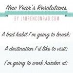 Resolutions every girl should make. I love these and they're reasonable too :3