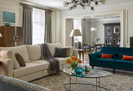 House Tour: A bespoke apartment with symmetry, balance and a medley of styles