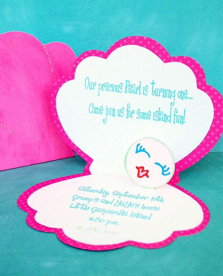 7 best invitation ideas images on pinterest anniversary parties under the sea custom invitations from mary had a little party solutioingenieria Images