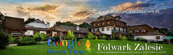 Zdjęcia panoramiczne Google Street View - Wirtualna wycieczka w Folwarku Zalesie. Wirtualny spacer Google Street View  #GoogleStreetViewSalaWeselna #zdjęciapanoramiczne