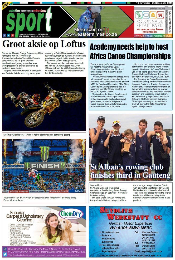Sport page 12-26 November