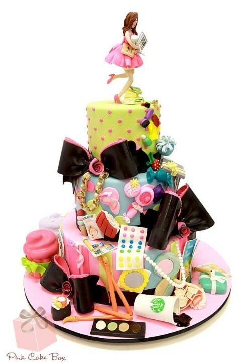 Teenager, Bat Mitvah Cake by Pink Cake Box #EbatesTurns16