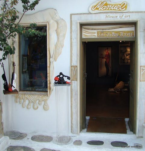 "Panoramio - Photos by Manuel ""House of Art"" Mykonos  © A Touch of Art (Manuel R. surrealist)"