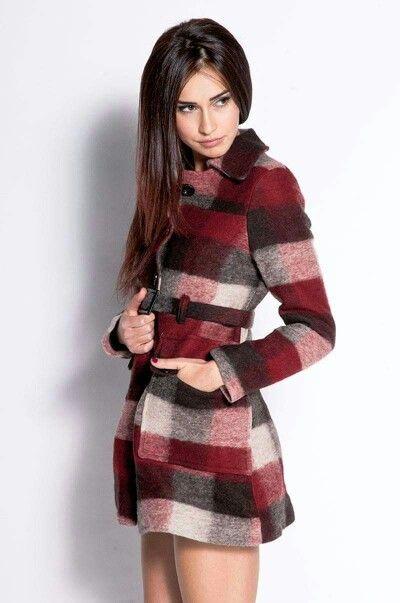 Cappottono lana cotta rosso