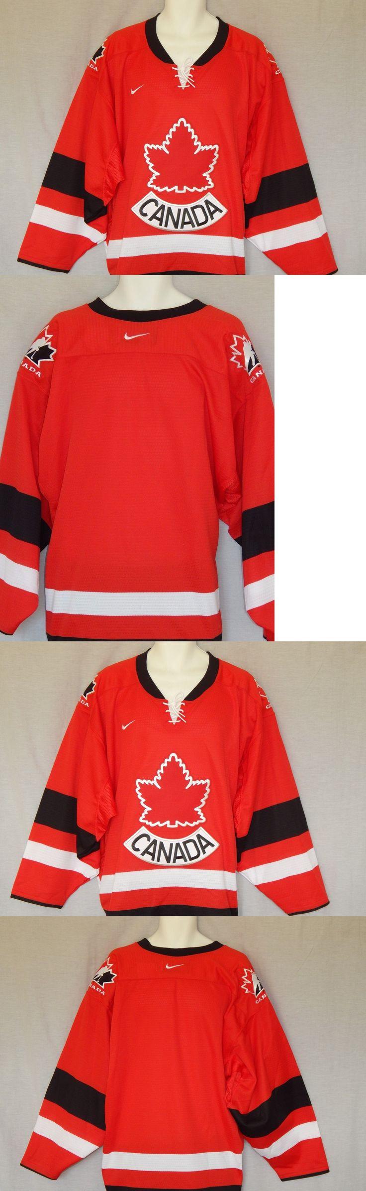 Hockey-Team Canada 2868: Team Canada Hockey Jersey Nike Vintage Red Mens Size Xl Olympics -> BUY IT NOW ONLY: $105.99 on eBay!