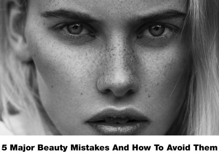 1. Forgetting To Exfoliate Your Skin Your skin, being the largest organ, goes through a lot to protect ...