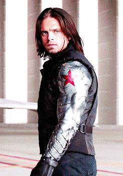 """James Buchanan """"Bucky"""" Barnes. Some know him as the Winter Soldier, but he prefers to be known as Bucky. He's been a lifelong friend to Steve Rogers. After being brainwashed by Hydra for 70 years, he can't remember everything, and often has trouble adapting to this new world of 2017. The Winter Soldier is behind him, and he's trying hard to find peace in the years of torture he's been through."""