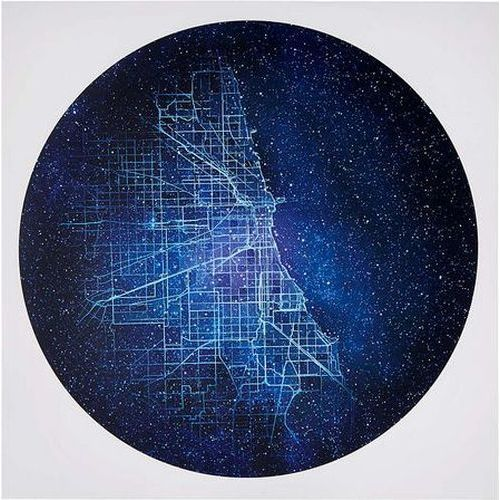 City Constellation Map | Chicago Gifts